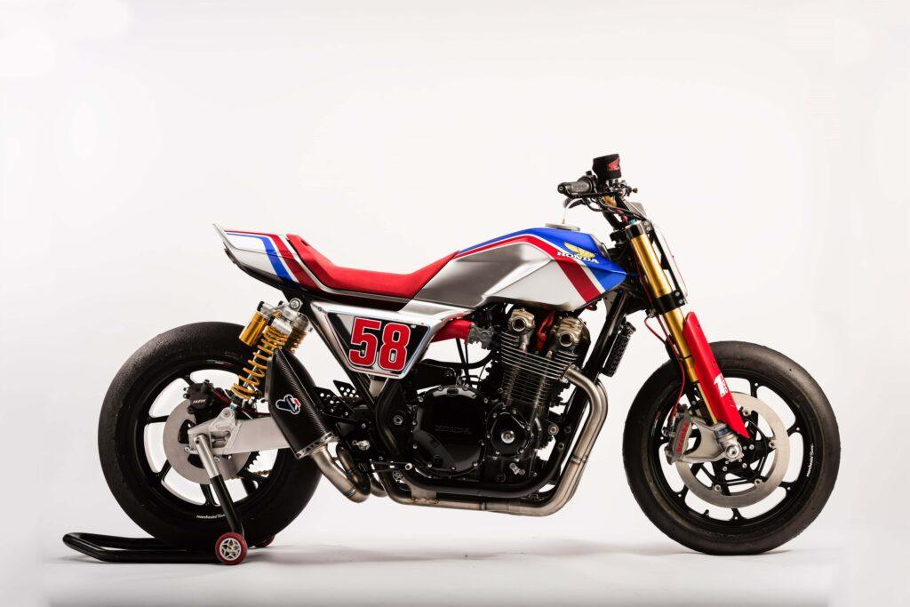 flat-track Honda CB 1100 TR